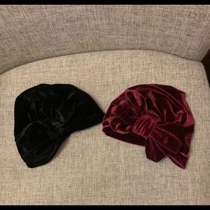 💗Baby turbans lot💗 set of 2 size 0-6 months